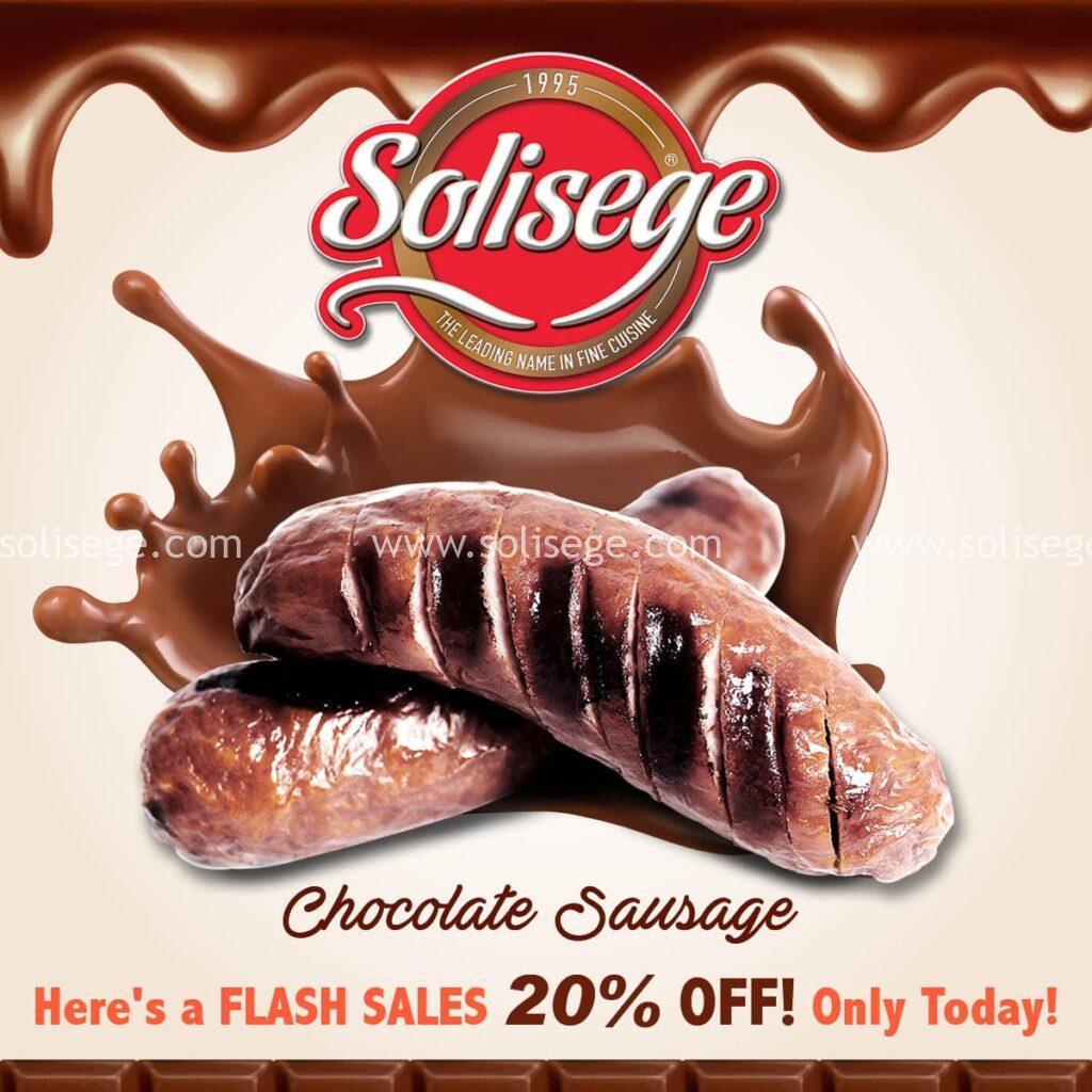 Solisege Chocolate Sausage